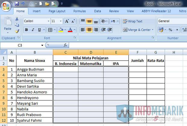 Cara Membuat Highlight Di Office Excel (1)