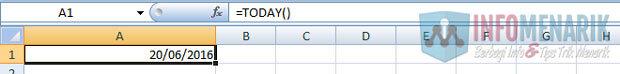 Cara Membuat Kalender Hijriyah Dengan Excel (2)