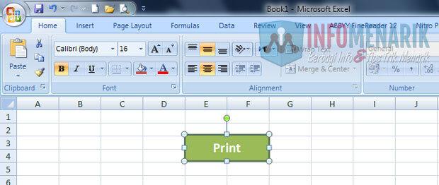 Cara Membuat Tombol Print Di Office Excel (2)
