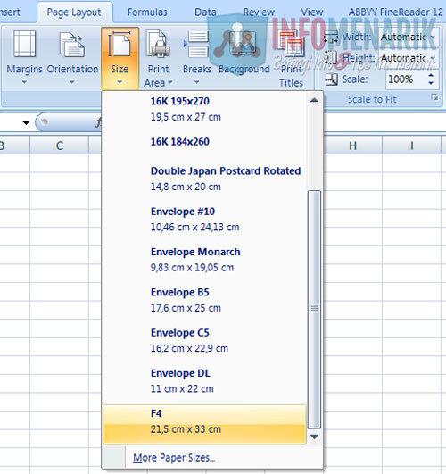 Cara Membuat Ukuran Kertas Di Office Excel (5)