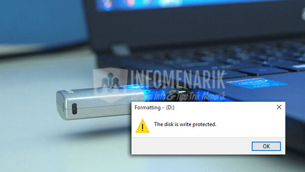 Cara Format Flashdisk Write Protected 0