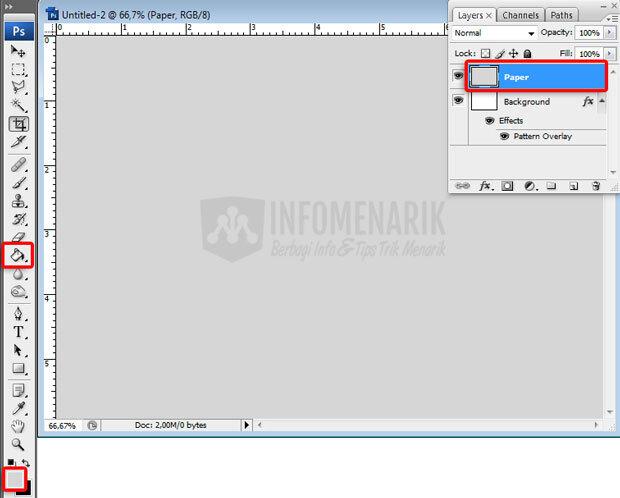 Cara Membuat Efek Kertas Lecek di Photoshop Part 2