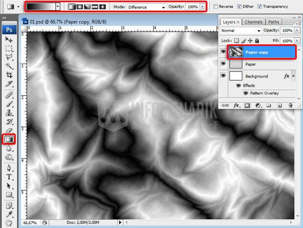 Cara Membuat Efek Kertas Kusut Di Photoshop (7)