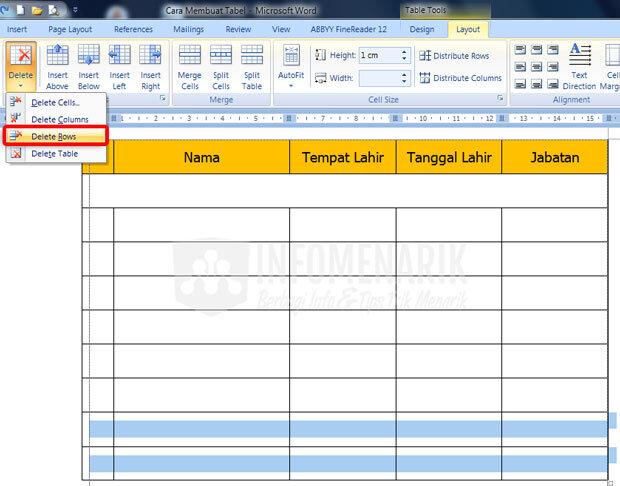 Cara Membuat Tabel Di Office Word (11)