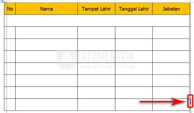 Cara Membuat Tabel Di Office Word (13)