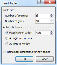 Cara Membuat Tabel Di Office Word (3)