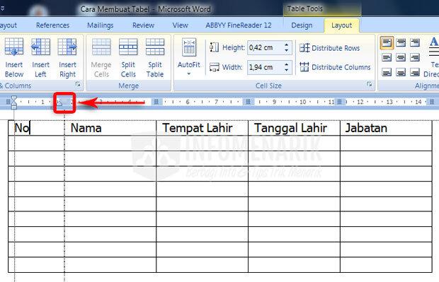 Cara Membuat Tabel Di Office Word (7)