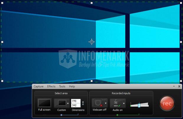 Cara Membuat Screenshot Animasi Format GIF (2)