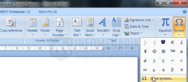 cara-membuat-simbol-telepon-di-office-word-2