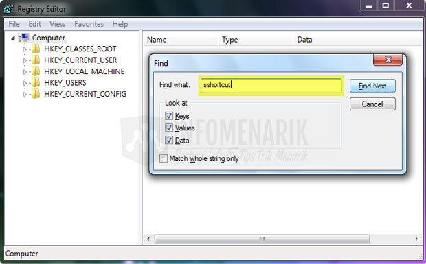 cara-menghilangkan-tanda-panah-pada-shortcuts-windows-3