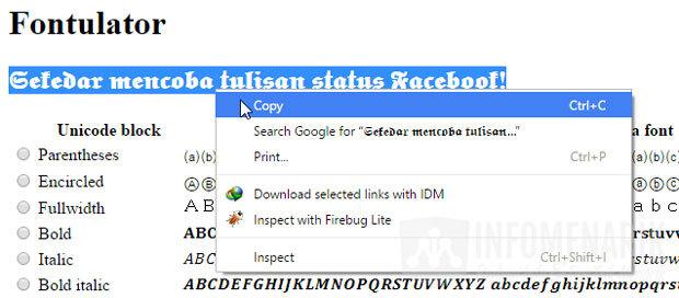 cara-mengubah-jenis-huruf-status-facebook-3