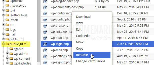 Cara Mengubah URL WP-Admin Dan WP-Login WordPress Dengan Yang Lain ...