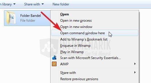 Punya File Dan Folder Yang Tidak Bisa Dihapus? Delete Paksa Saja ...