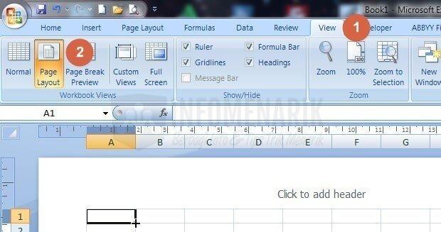 Cara Print Gambar Besar Pada Banyak Kertas Berukuran Kecil Di Office Excel Info Menarik