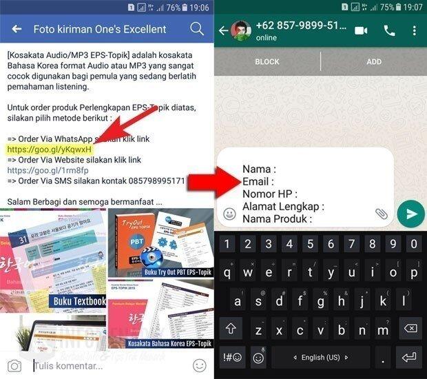 Cara Membuat Link WhatsApp 2