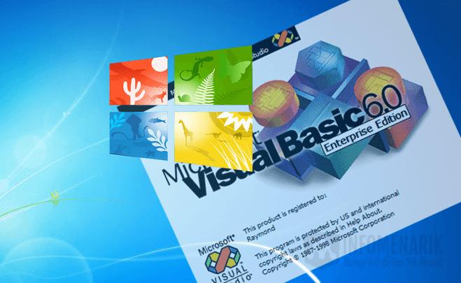 Cara Install Microsoft Visual Basic 6 0 Di Windows 7, 8, dan