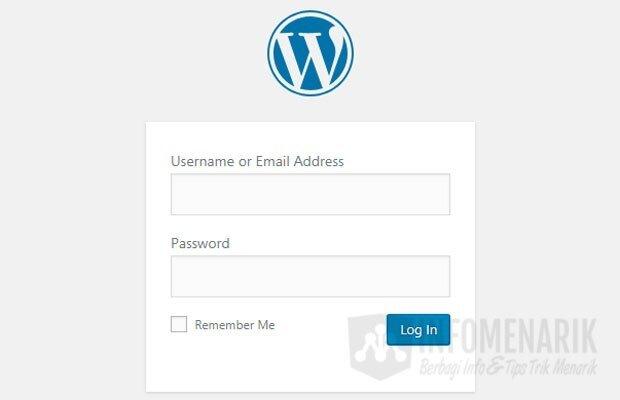 Cara Membuat Website WordPress 3