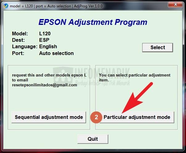 Cara Reset Printer EPSON L120 Lampu LED Berkedip Lengkap Dengan