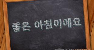 Bahasa Korea Selamat Pagi