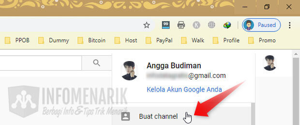 Cara Membuat Channel Youtube 3