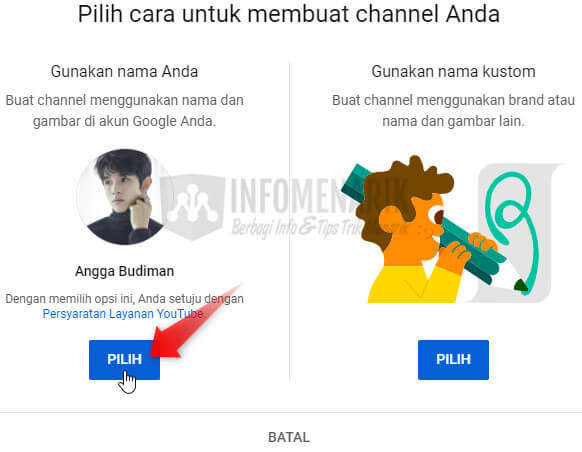 Cara Membuat Channel Youtube 5