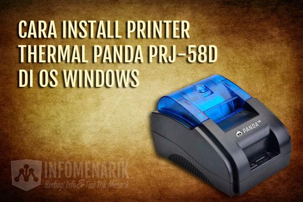 Cara Install Printer Thermal 01