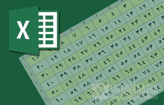 Cara Mengetik Angka Arab di Excel 1