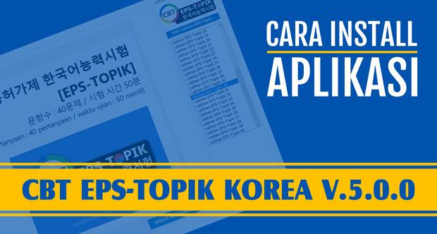 Aplikasi CBT EPS-Topik Korea HTML5 01