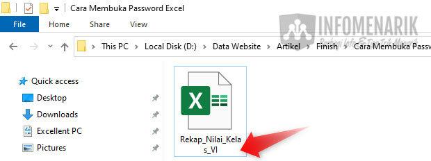 Cara Membuka Password File Excel 02