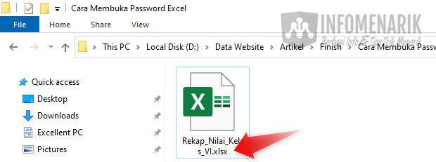 Cara Membuka Password File Excel 05