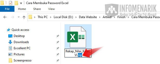 Cara Membuka Password File Excel 07