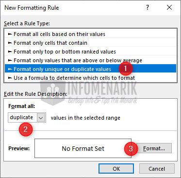 Cara Menemukan Dan Menghapus Data Ganda Di Excel 7