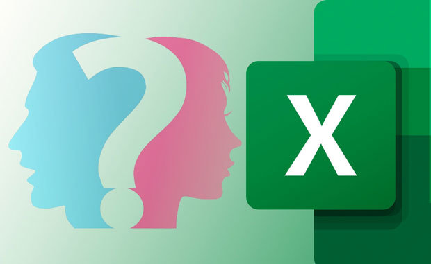 Cara Menentukan Jenis Kelamin di Excel 01