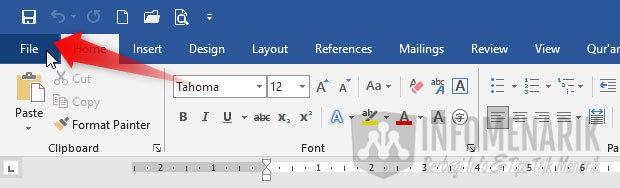 Cara Menghindari Typo di Office Word 1
