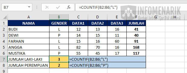 Fungsi Dasar Excel 5