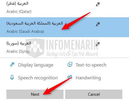 Cara Mengetik Huruf Arab di Word 5